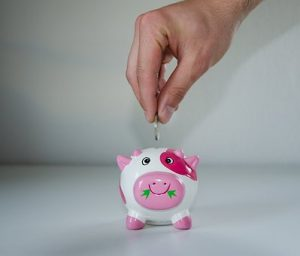Save money in your piggy bank when you are planning to move