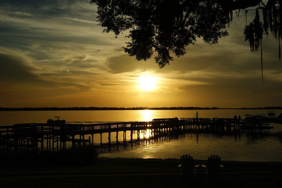 Moving to Mount Dora - sunset