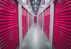 pink storage units - short term storage rental