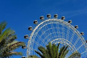 family fun in Orlando includes countless rides
