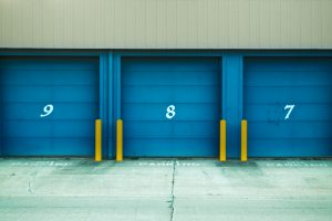 How to create additional storage space in your home- blue storage units