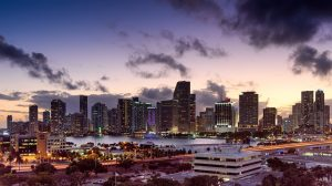Miami skyline is one of the best ever