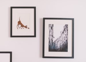 decorating rental home with pictures