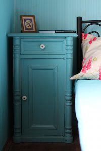 A nightstand as a in-house storage solutions