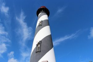 Lighthouse that is only one of funactivities in New Smyrna Beach