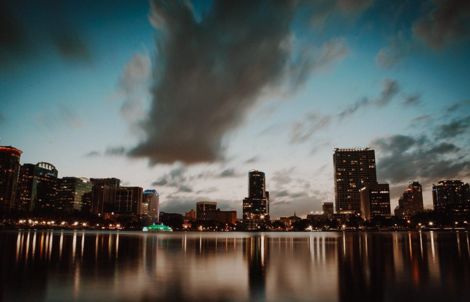 Orlando for beginners starts with the photography of cityscape