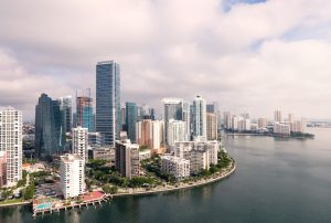 a picture of a city that can be one of the best places for starting a business in Florida
