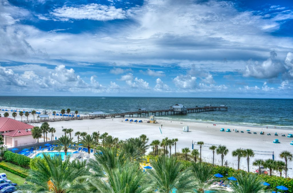 One of the beautiful beaches you can visit after moving to East Orlando.